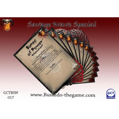 Special Card Pack, The Savage Wave, Bushido