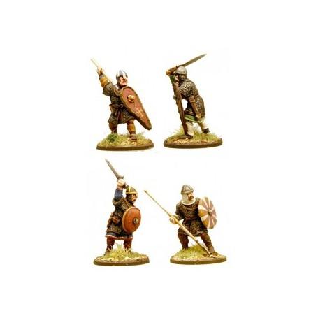 Anglo-Danish Huscarls (spears) (Hearthguard)