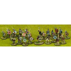 Viking Starter Warband - 25 foot figures (4 points)