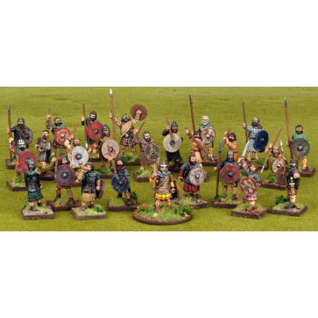 Scots Warband Starter - 25 Foot Figures (4 points)