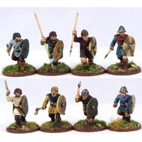 Guerriers Carolingiens (Lances)