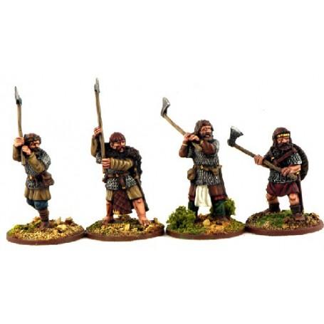 Gardes Hiberno-Nordiques (Haches)