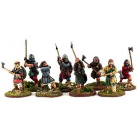 Guerriers Hiberno-Nordiques (Haches)