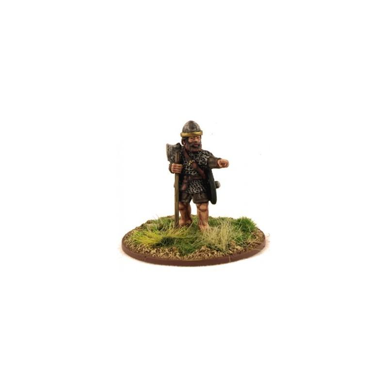 Irish Warlord with Dane Axe