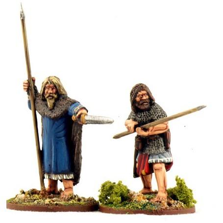 Curaidh Irlandais (2 Figurines)
