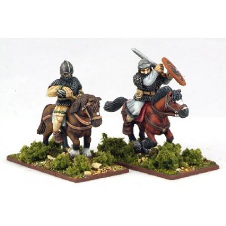 Curaidh à Cheval (2 Figurines)