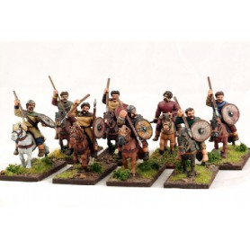 Guerriers Gallois Montés