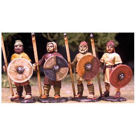 Levées Anglo-Saxonne (Lances)