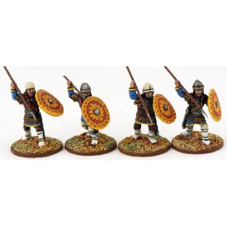 Guerriers Byzantins (Lances)