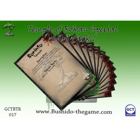 Temple of Rohkan Card Pack 1