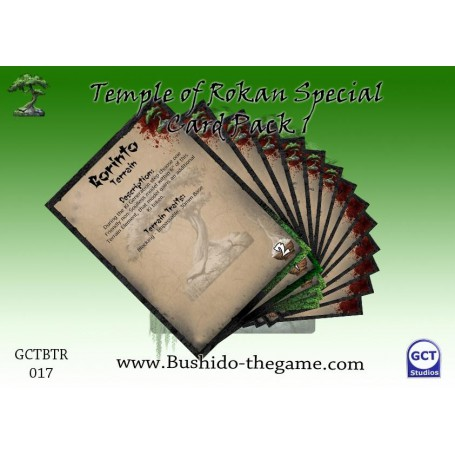 Special Card Pack, Temple of Ro-Kan, Bushido