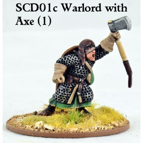 Crusader Warlord with Double Handed Weapon