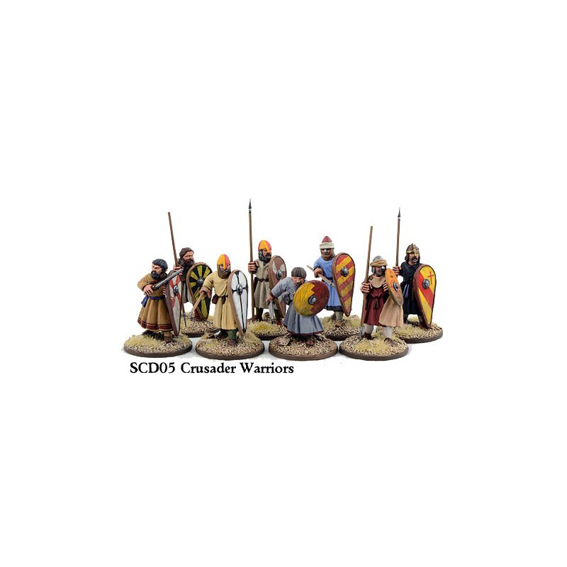 Crusader Sergeants on Foot (Warriors)