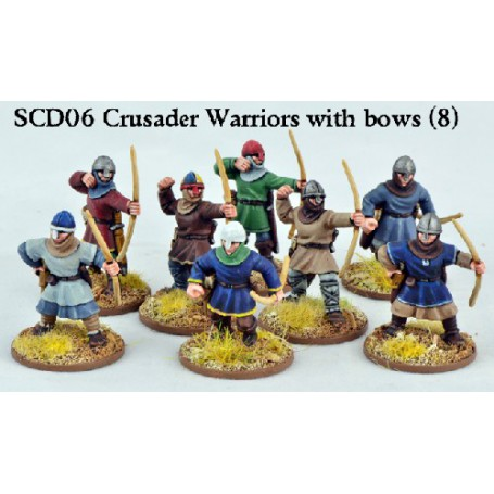 Crusader Sergeants with Bows (Warriors)+B21