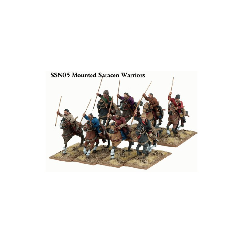 Mounted Saracen Warriors
