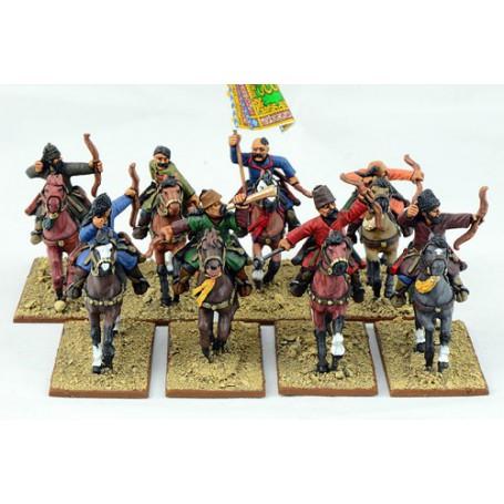 Guerriers Sarrasins à Cheval (Arcs)