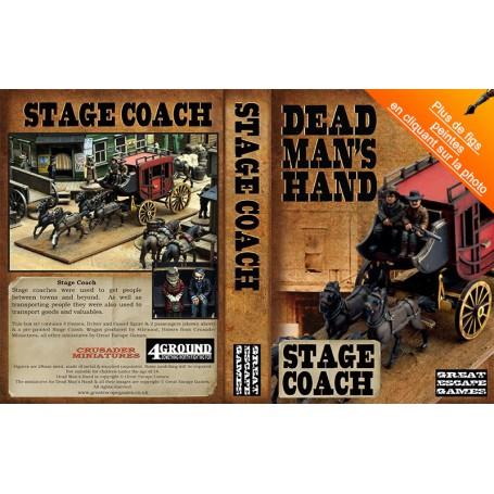 Dead Man's Hand Stage Coach Set