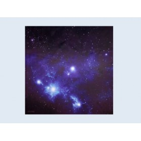 War Game Mat - 36X36Inch - Blue Space