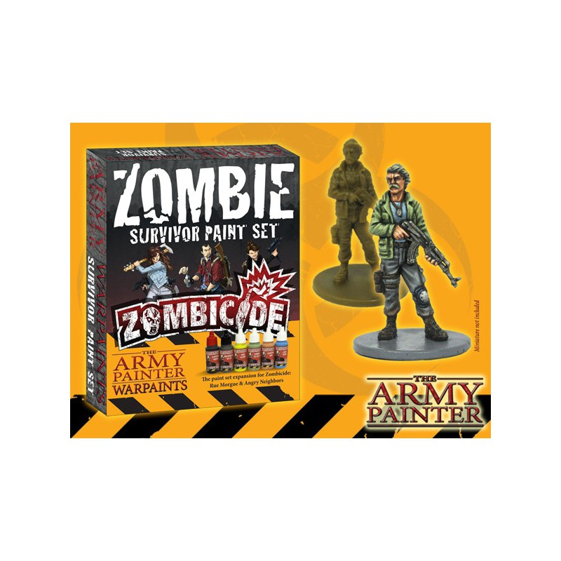 Warpaints Zombicide Survivor Paint Set, par Army Painter