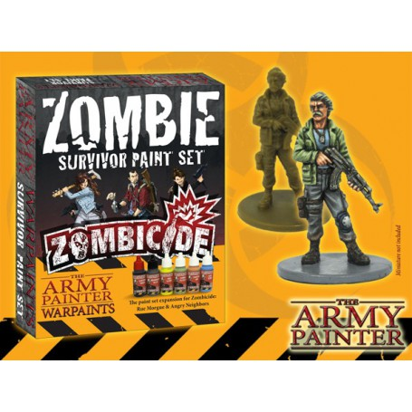 Warpaints Zombicide Survivor Paint Set