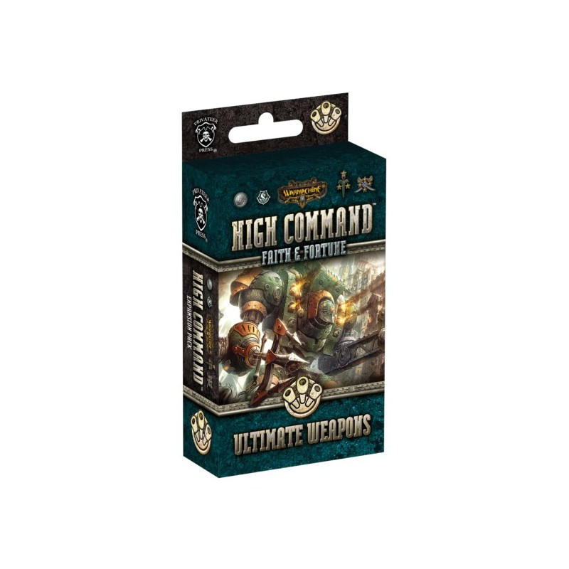 WARMACHINE High Command Faith & Fortune: Ultimate Weapons Expansion