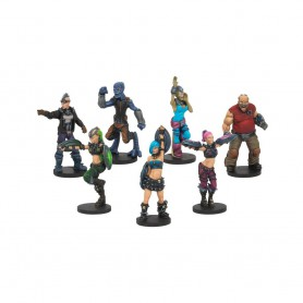 Beauties and the Mob, Cheerleaders & Fans, Dreadball, par Mantic