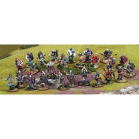 Jomsviking Warband Starter - 25 Foot Figures (4 points)