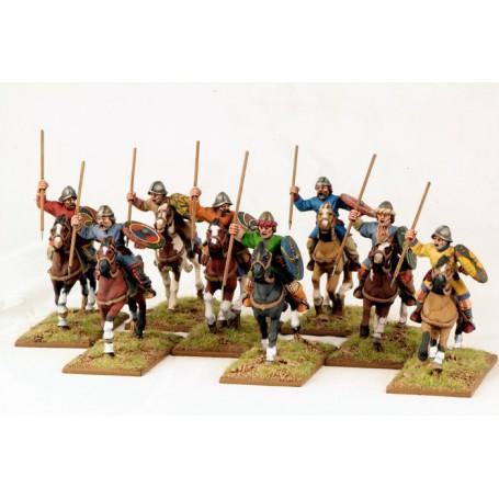 Guerriers Carolingiens Montés