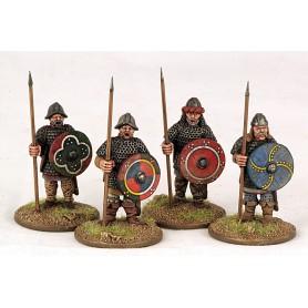 Gardes Carolingiens à Pied