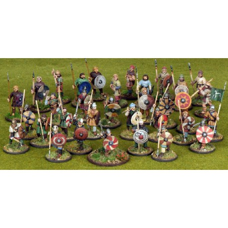 Anglo-Saxon Warband Starter - 33 Foot Figures (4 points)