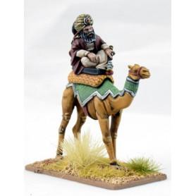 Mutatawwi'a Warlord on Camel, Saga, le croissant et la croix