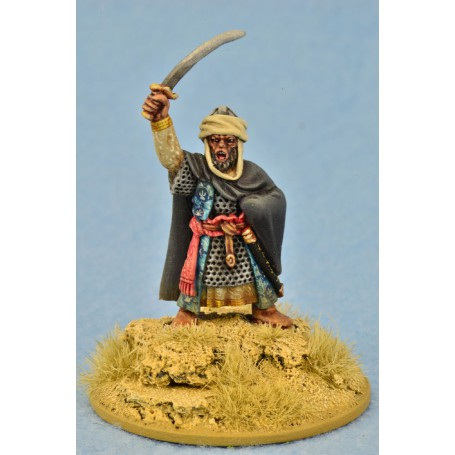 Mutatawwi'a Warlord on Foot, Saga, le croissant et la croix