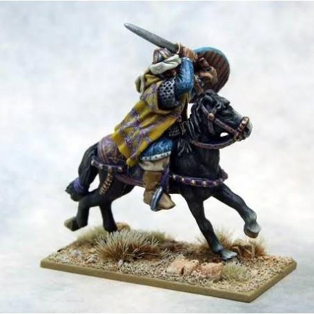 Mutatawwi'a Warlord on Horse, Saga, le croissant et la croix