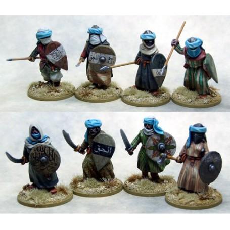 Mutatawwi'a Chosen (Warriors) on Foot, Saga, le croissant et la croix