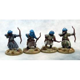 Mutatawwi'a Chosen (Warriors) with Bows, Saga, le croissant et la croix