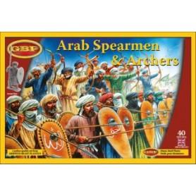Arab Spearmen & Archers, Saga, le croissant et la croix, par le Studio Tomahawk et gripping Beast