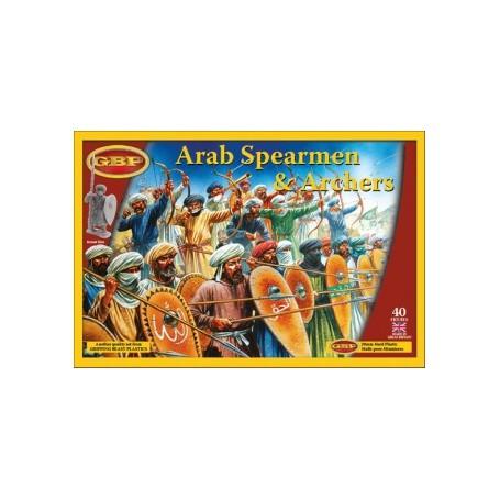 Arab Spearmen & Archers, Saga, le croissant et la croix