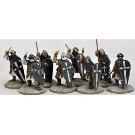 Sergeants (Warriors) on Foot, Saga, le croissant et la croix