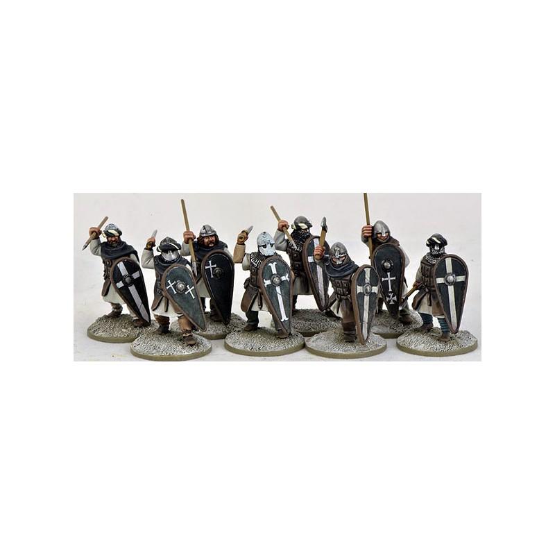 Sergeants (Warriors) on Foot, de Saga, le croissant et la croix par le STUDIO TOMAHAWK.