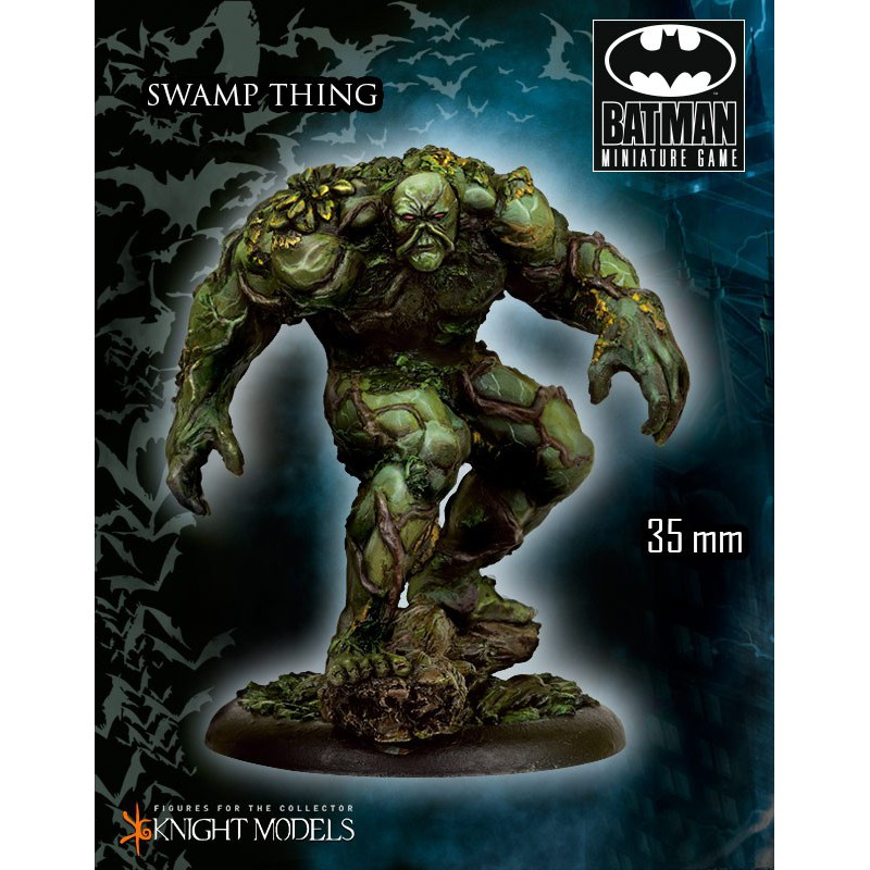 The Swamp Thing, Batman The Miniature Games, par Knight Models