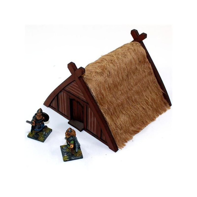 Norse Storehouse/Hut, pour Saga, l'age des vikings, par 4Ground