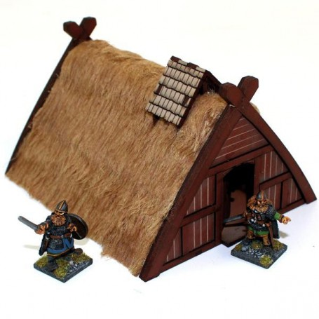 Norse Hovel/Workshop, pour Saga, l'age des vikings, par 4Ground