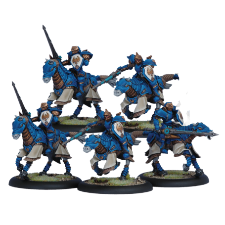 Storm Lances par 5, Cygnar, warmachine par Victoria Games