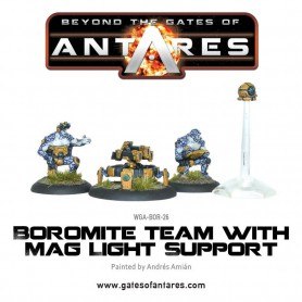 Boromite Team with Mag Light Support