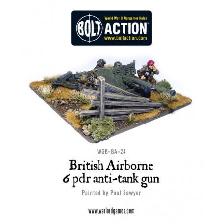 British Para 6 Pounder ATG & Crew