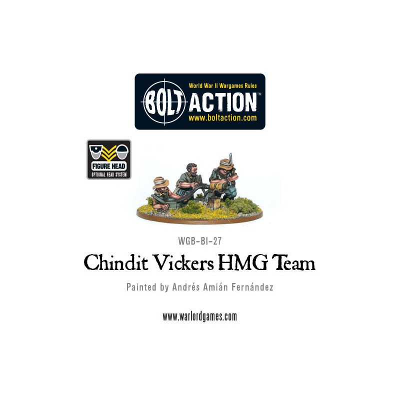 Chindit Vickers MMG & Crew