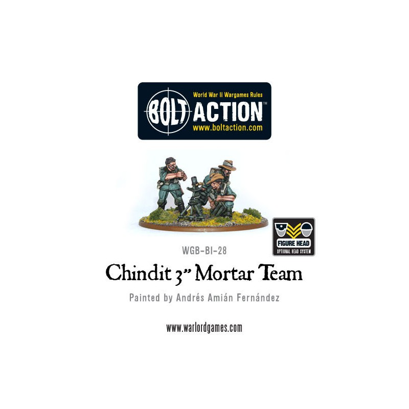 "Chindit 3"" Mortar Team"