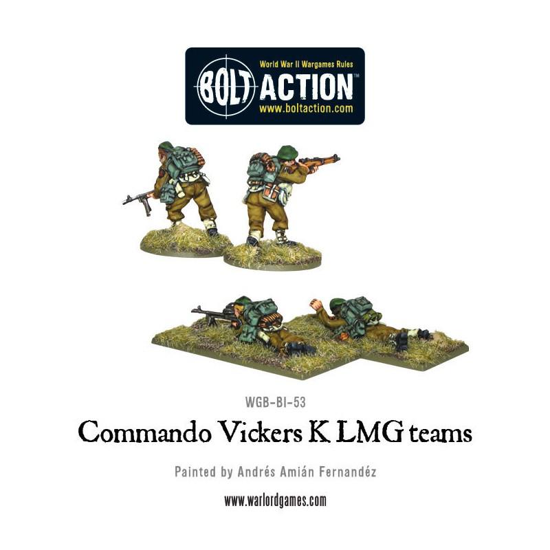 Commando Vickers K LMG Teams