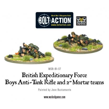 Early War British Anti-Tank Rifle Team
