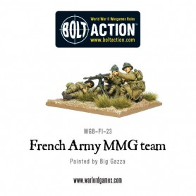 Early War French MMG Team